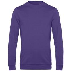 Textiel Heren Sweaters / Sweatshirts B&c WU01W Stralend paars