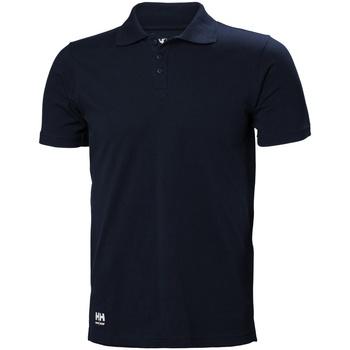 Textiel Heren T-shirts & Polo's Helly Hansen 79167 Marine