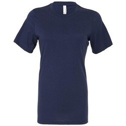 Textiel Dames T-shirts & Polo's Bella + Canvas BE6400 Marine