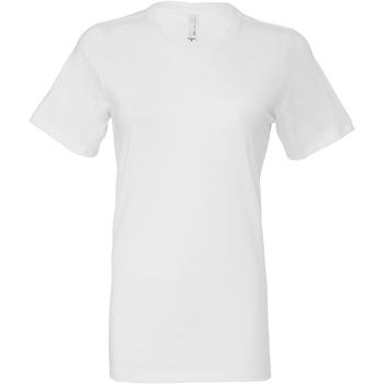 Textiel Dames T-shirts & Polo's Bella + Canvas BE6400 Wit