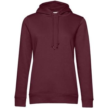 Textiel Dames Sweaters / Sweatshirts B&c WW34B Bourgondië