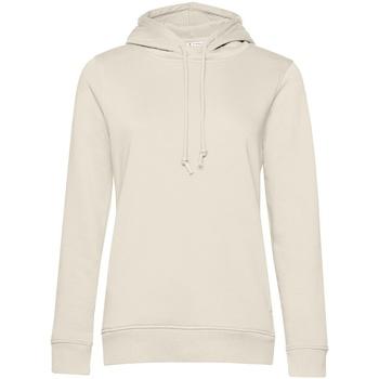 Textiel Dames Sweaters / Sweatshirts B&c WW34B Gebroken wit