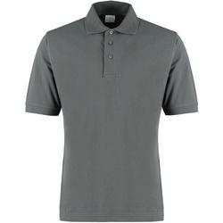 Textiel Heren T-shirts & Polo's Kustom Kit KK460 Donkergrijs