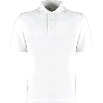Textiel Heren T-shirts & Polo's Kustom Kit KK460 Wit
