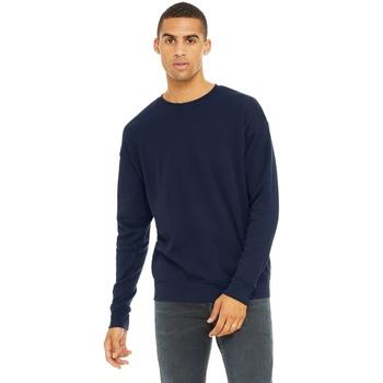 Textiel Heren Sweaters / Sweatshirts Bella + Canvas CA3945 Marine