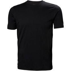 Textiel Heren T-shirts & Polo's Helly Hansen 79161 Zwart