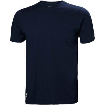 Textiel Heren T-shirts & Polo's Helly Hansen 79161 Marine