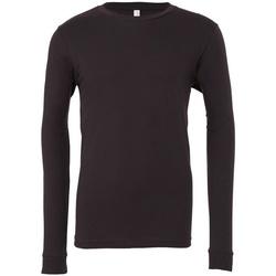 Textiel T-shirts met lange mouwen Bella + Canvas CA3501 Donkergrijs