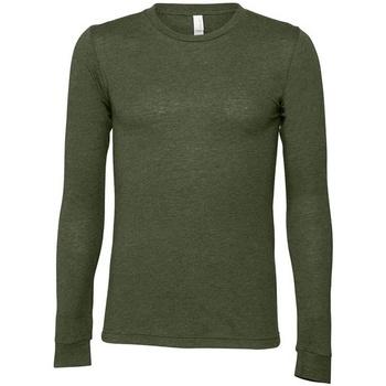 Textiel T-shirts met lange mouwen Bella + Canvas CA3501 Militair Groen