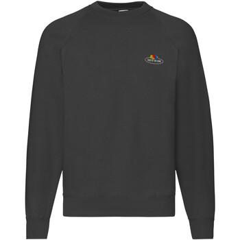 Textiel Heren Sweaters / Sweatshirts Fruit Of The Loom 12202J Zwart