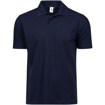 Textiel Heren T-shirts & Polo's Tee Jays TJ1200 Marineblauw