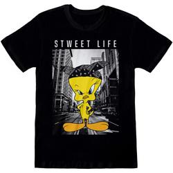 Textiel T-shirts korte mouwen Dessins Animés  Zwart