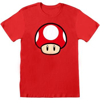 Textiel T-shirts korte mouwen Super Mario  Rood