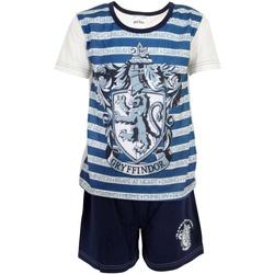 Textiel Jongens Pyjama's / nachthemden Harry Potter  Blauw/Wit
