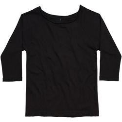 Textiel Dames Sweaters / Sweatshirts Mantis M128 Zwart