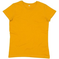 Textiel Dames T-shirts korte mouwen Mantis M02 Mosterd