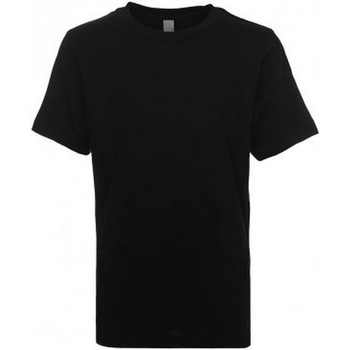 Textiel Kinderen T-shirts korte mouwen Next Level NX3310 Zwart