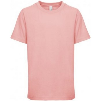 Textiel Kinderen T-shirts korte mouwen Next Level NX3310 Lichtroze