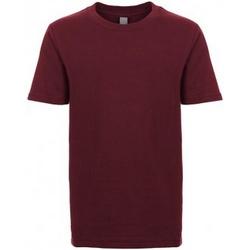 Textiel Kinderen T-shirts korte mouwen Next Level NX3310 Marron