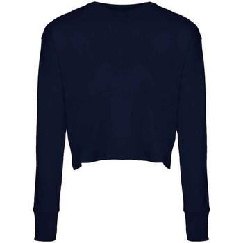 Textiel Dames T-shirts met lange mouwen Next Level NX7481S Middernacht marine