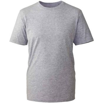 Textiel T-shirts korte mouwen Anthem AM10 Grijs