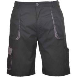 Textiel Heren Korte broeken / Bermuda's Portwest  Zwart