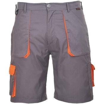 Textiel Heren Korte broeken / Bermuda's Portwest  Grijs