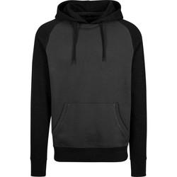 Textiel Heren Sweaters / Sweatshirts Build Your Brand BY077 Houtskool/zwart