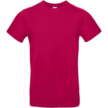 Textiel Heren T-shirts korte mouwen B And C BA220 Sorbet