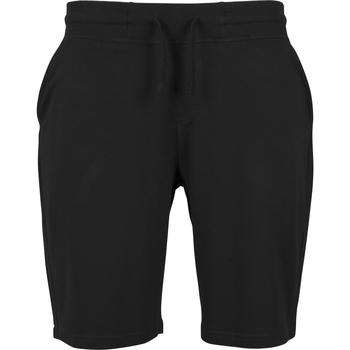 Textiel Heren Korte broeken / Bermuda's Build Your Brand BY080 Zwart