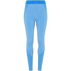 Textiel Dames Leggings Tridri TR212 Saffierblauw