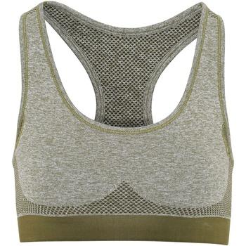Textiel Dames Sport BHs Tridri TR210 Olijfgroen