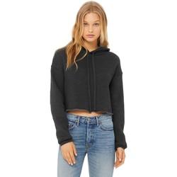 Textiel Dames Sweaters / Sweatshirts Bella + Canvas BE7502 Donkergrijze heide