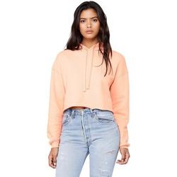Textiel Dames Sweaters / Sweatshirts Bella + Canvas BE7502 Perzik