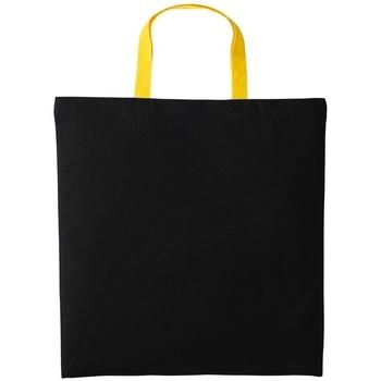 Tassen Schoudertassen met riem Nutshell RL130 Zwart/Zonnebloem