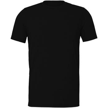 Textiel T-shirts korte mouwen Bella + Canvas CV011 Zwarte Heide