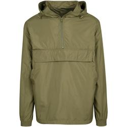 Textiel Jacks / Blazers Build Your Brand BY096 Olijf