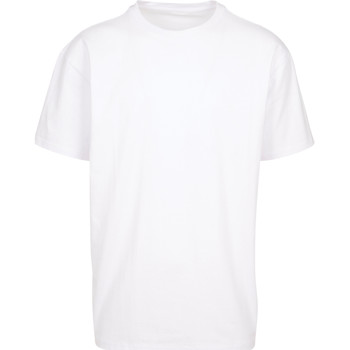 Textiel T-shirts korte mouwen Build Your Brand BY102 Wit