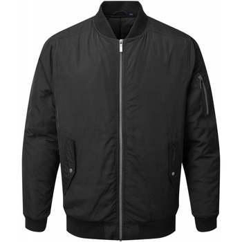 Textiel Heren Jacks / Blazers Asquith & Fox AQ204 Zwart