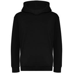 Textiel Kinderen Sweaters / Sweatshirts Awdis J201J Diep zwart