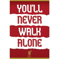 Wonen Posters Liverpool Fc TA5854 Rood/Wit