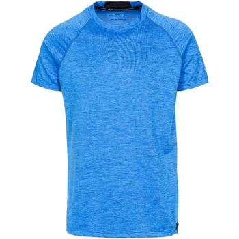 Textiel Heren T-shirts korte mouwen Trespass  Blauwe mergel