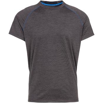 Textiel Heren T-shirts korte mouwen Trespass  Donkergrijs mergel