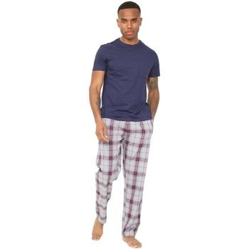 Textiel Heren Pyjama's / nachthemden Unbranded  Marine