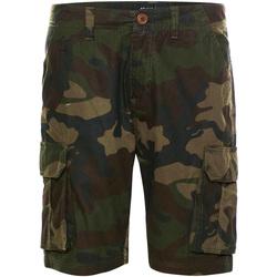 Textiel Heren Korte broeken / Bermuda's Brave Soul  Khaki Camo