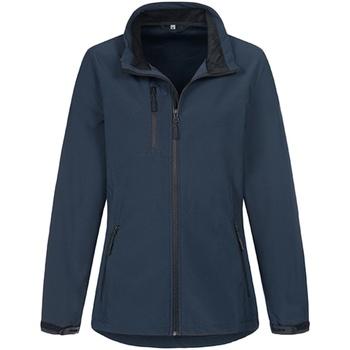 Textiel Dames Jacks / Blazers Stedman  Blauw