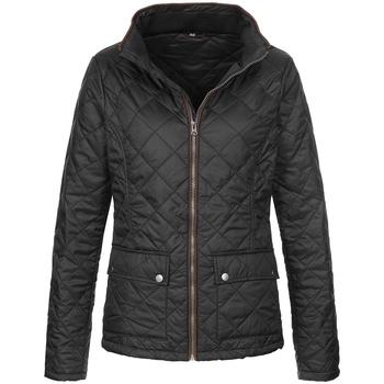Textiel Dames Jacks / Blazers Stedman  Zwart Opaal