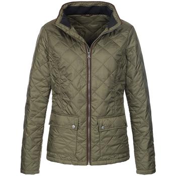 Textiel Dames Jacks / Blazers Stedman  Militair Groen