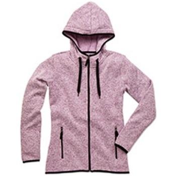 Textiel Dames Jacks / Blazers Stedman  Paars gemêleerd