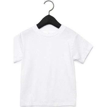 Textiel Kinderen T-shirts & Polo's Bella + Canvas CA3001T Wit